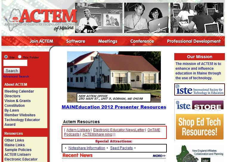 Association of Computer Technology Educators of Maine (ACTEM)