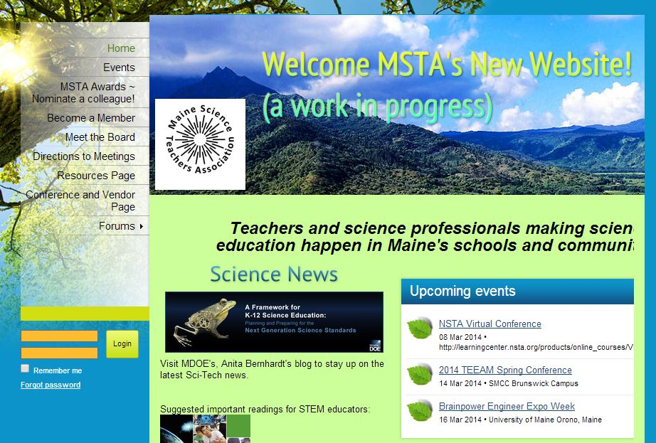 Maine Science Teachers Association